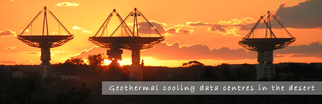 Geothermal Cooling Data Centres in the Desert